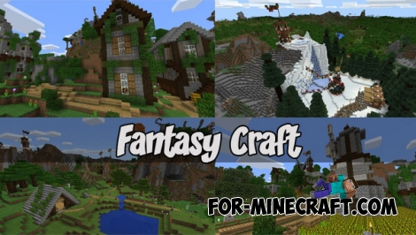 Fantasy Craft map (MCPE 1.0+)