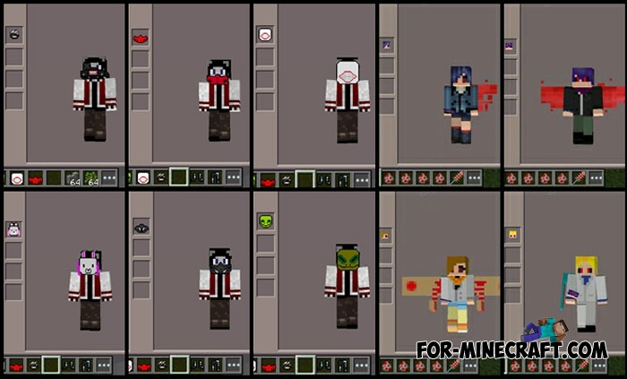 Tokyo Ghoul Mod Addon MCPE - Skins para minecraft pe tokyo ghoul