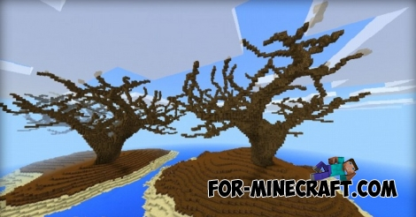 The Islands map for MCPE 1.1