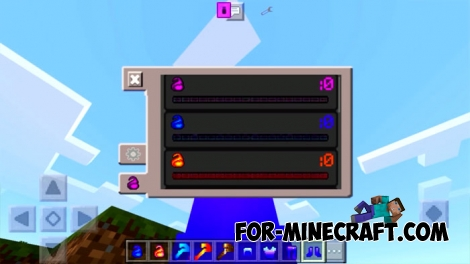 Elemental Staffs mod (Minecraft PE 1.1.3)