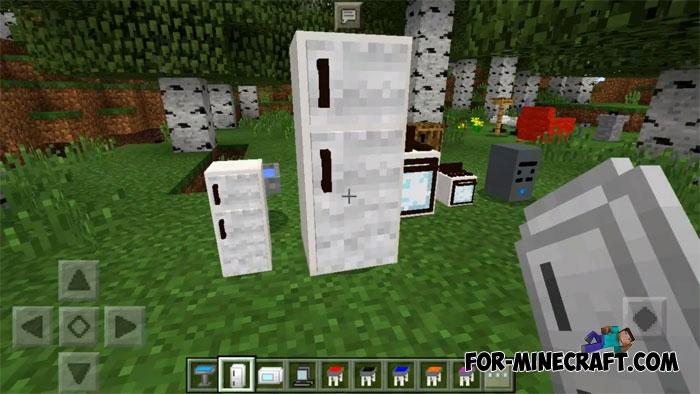 Master 39 S Furniture Mod Minecraft Pe 1 2