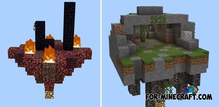 Mega Skyblock Map MCPE - Minecraft maps skyblock 1 11 2