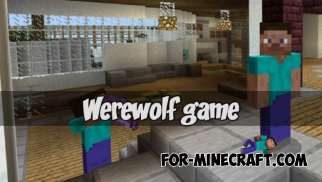Werewolf game for MCPE 1.1.3+