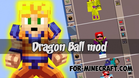 Dragon Ball mod (Minecraft PE)
