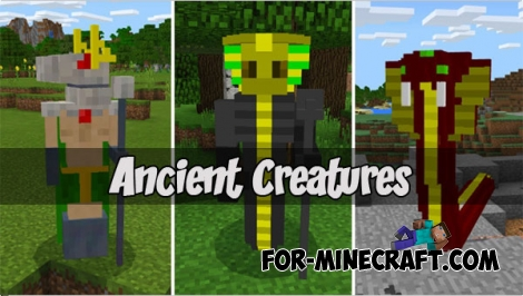 Ancient Creatures for MCPE 1.1