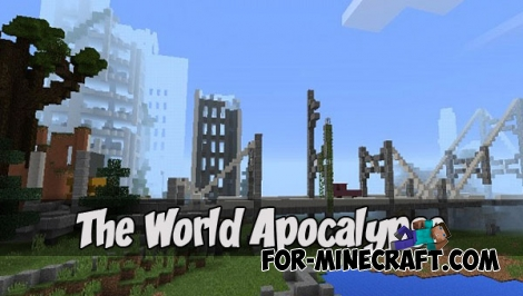 The World Apocalypse map (MCPE 1.1)