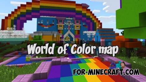 World of Color map (Minecraft PE)