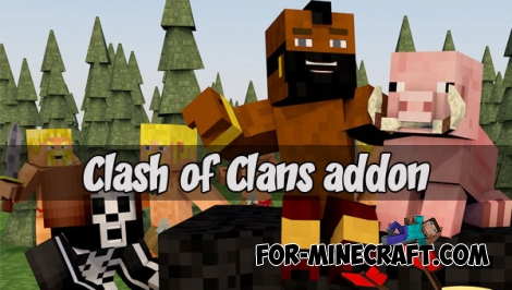 Clash of Clans addon (MCPE 1.1.3+)