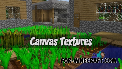 Canvas Textures (Minecraft PE 1.1)