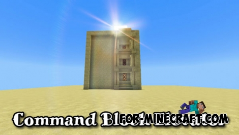 Command Block Elevator for Minecraft PE 1.1+
