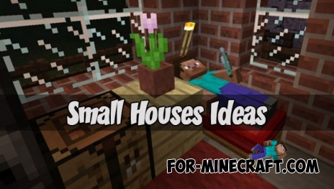 Small Houses Ideas (Minecraft PE 1.1)