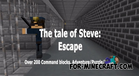 Escape from Prison map (MCPE 1.1)
