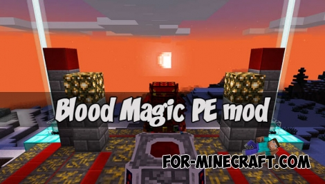 Blood Magic PE mod (MCPE 1.1)