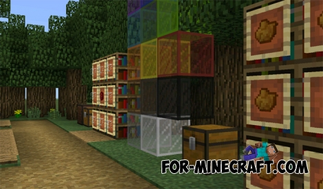 Minecraft PE 1.2 Features map