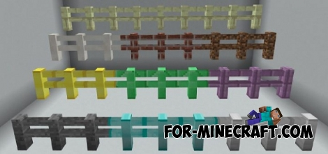 More Fences for Minecraft PE 1.2
