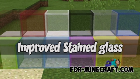 Improved Stained glass for Minecraft 1.2