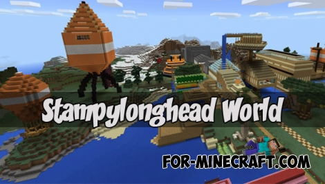 Stampylonghead World (Minecraft 1.2)