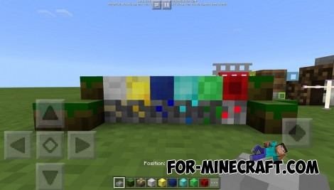 4x4 texture pack for Minecraft PE 1.2
