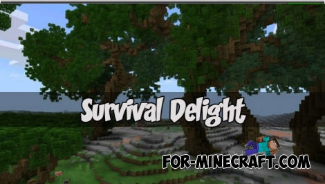 Survival Delight map (MCPE 1.2+)