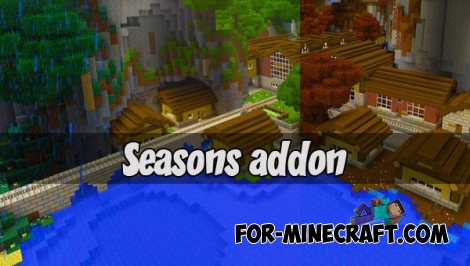 Seasons addon (Minecraft PE)