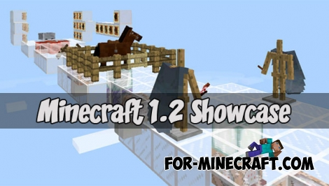 Minecraft 1.2 Showcase map