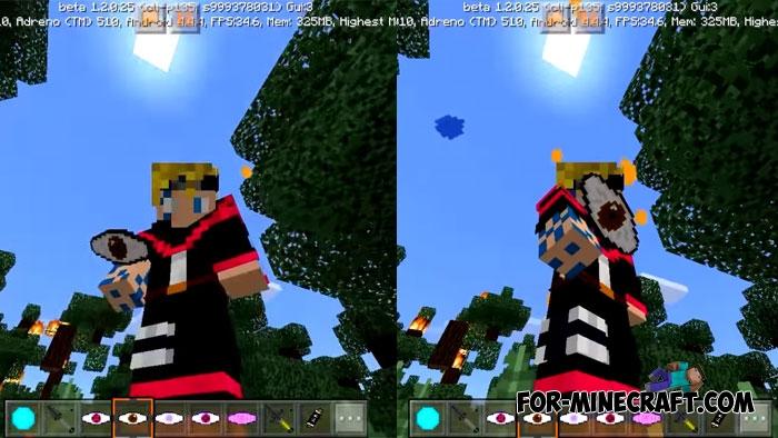 Naruto & Boruto addon or Minecraft PE 1.1/1.2