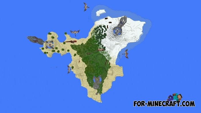 Island Map Where Are The Obelisks