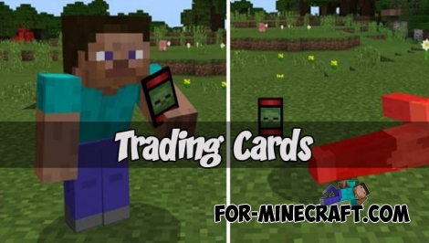Trading Cards for MCPE 1.2