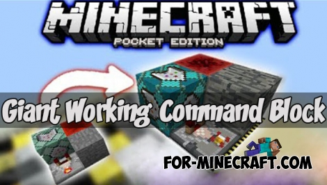 Giant Working Command Block map