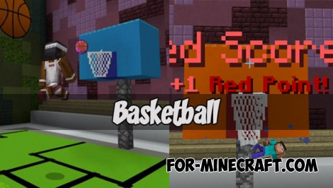 Basketball for Minecraft PE 1.2+