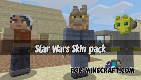 Star Wars Skin pack for MCPE 1.2+