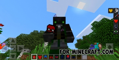 Spider-Man mod for Minecraft PE 1.2+