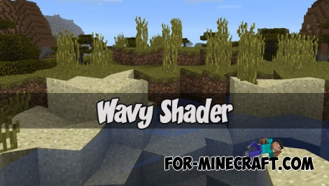 Wavy Shader for Minecraft PE 1.1/1.2