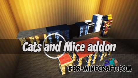 Cats and Mice addon (Minecraft PE)