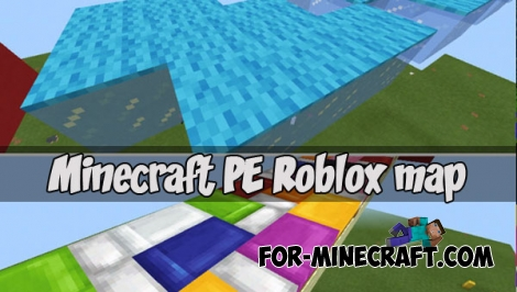 Minecraft PE Roblox map