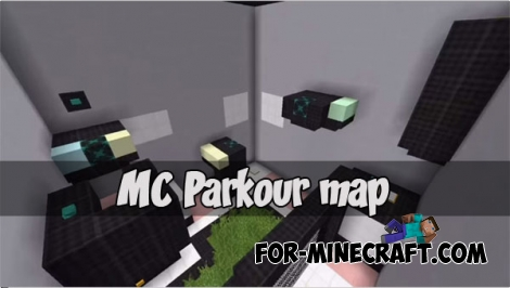MC Parkour map for MCPE