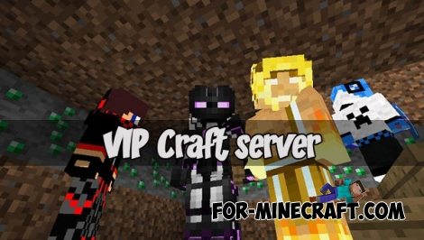 VIP Craft server for MCPE