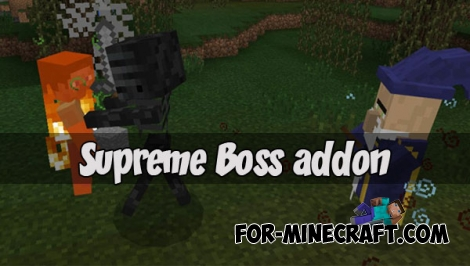 Supreme Boss addon for Minecraft PE