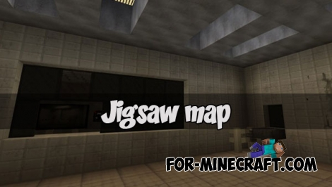 Jigsaw map for Minecraft PE 1.2