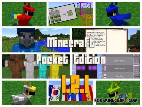 Minecraft 1.2.1 (Android/iOS/Win10)