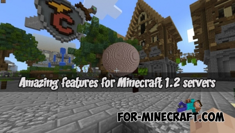 Amazing features for Minecraft 1.2 servers