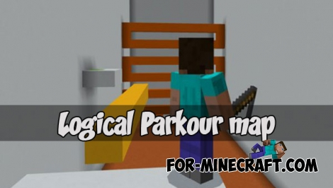 Logical Parkour map for MCPE 1.2.1+
