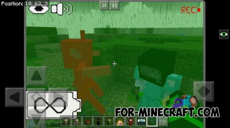 Slendytubbies addon for Minecraft PE 1.2.2+