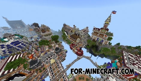 Colonial Server Spawn for Minecraft PE - Bedrock