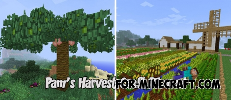Pam's Harvest Craft PE mod for Minecraft PE (v2.4.1)