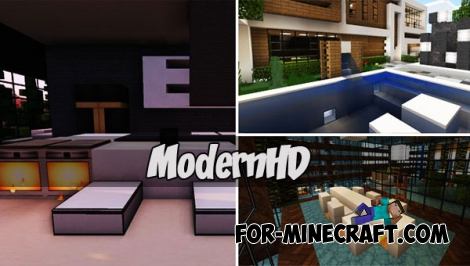 ModernHD for Minecraft PE 1.2