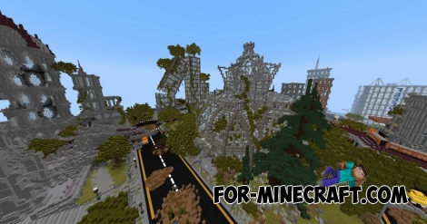 Apocalypse City for Minecraft PE 1.2