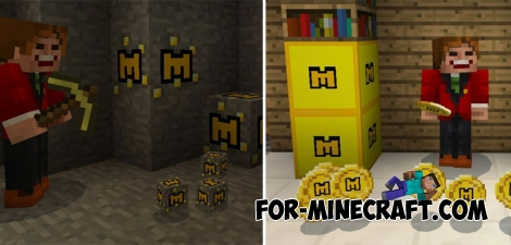 Coins for Minecraft PE - Bedrock
