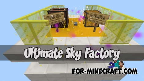 Ultimate Sky Factory for Minecraft Bedrock Edition