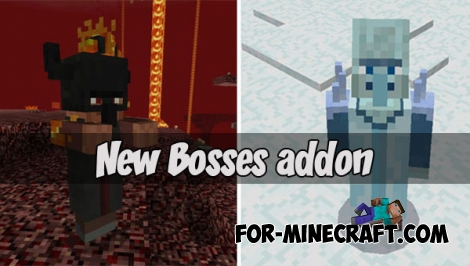 New Bosses addon for MCPE - Bedrock